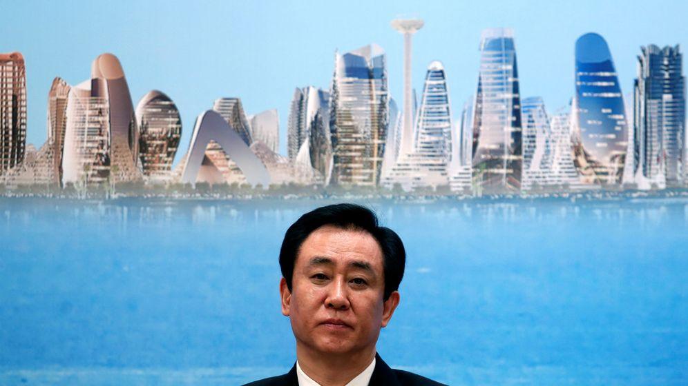 Foto: El presidente de China Evergrande Group, Hui Ka Yan (Reuters)