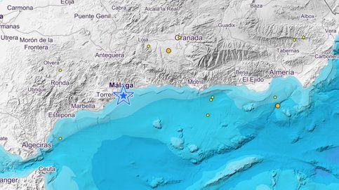 Registrado un terremoto de 3,8 de magnitud en Málaga