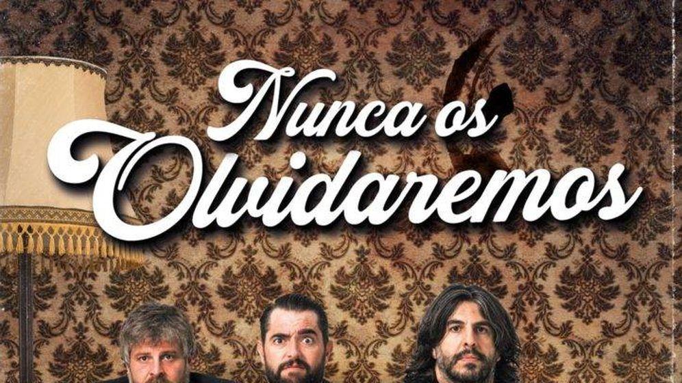 Foto: Actuación de 'Nunca os olvidaremos', de Dani Mateo, Raúl Cimas y J.J.Vaquero.