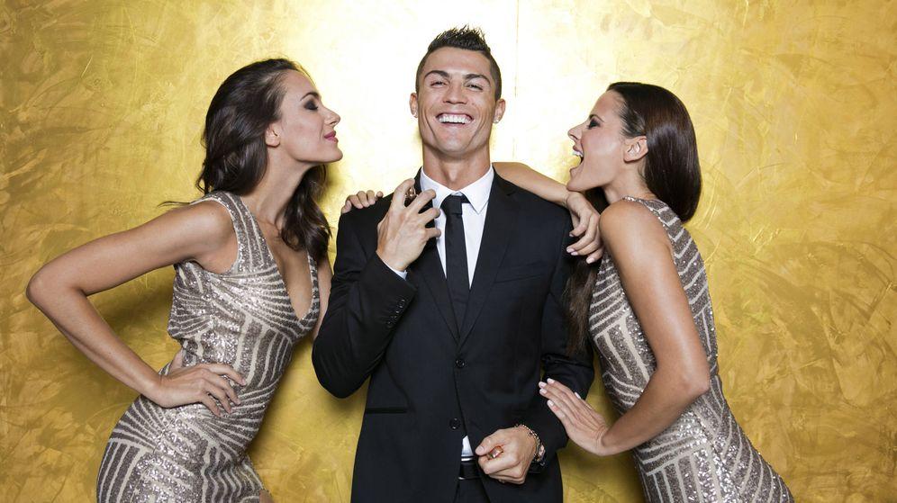 Foto: Cristiano Ronaldo, en el lanzamiento de su fragancia. (Getty)