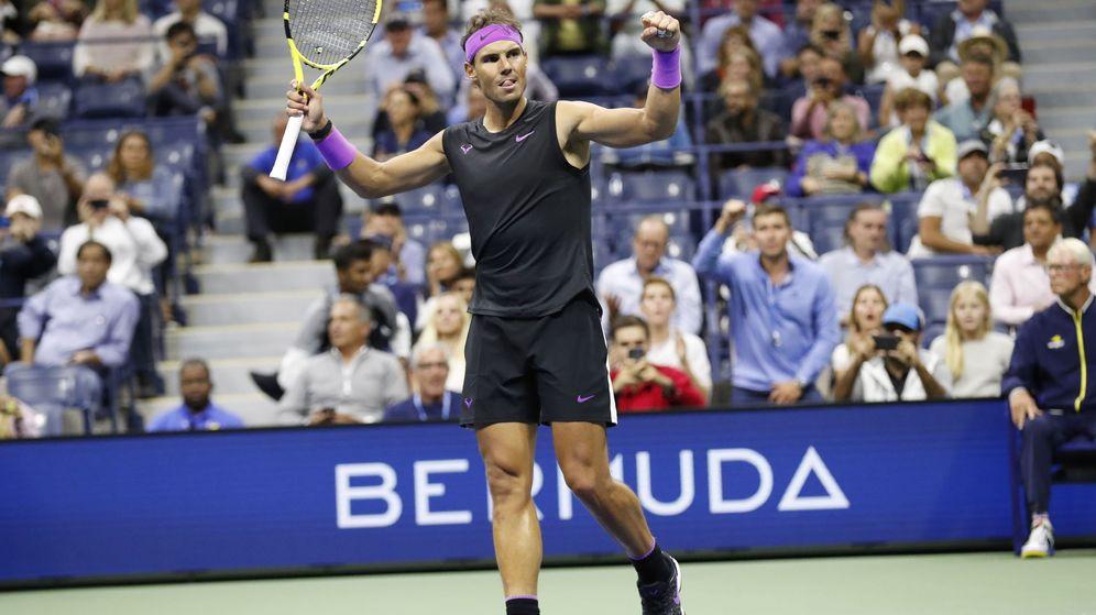 Foto: Rafa Nadalganó a Matteo Berrettini en las semifinales del US Open. (EFE)