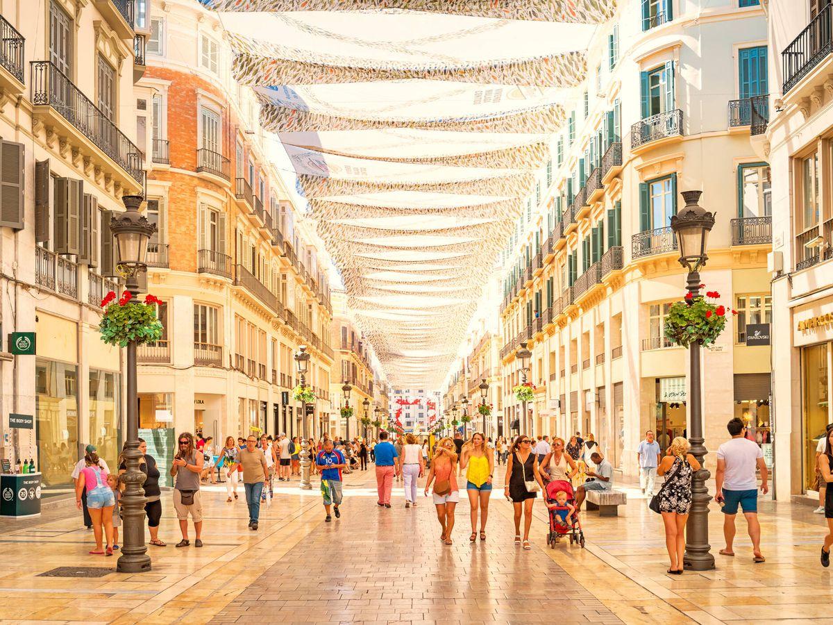 Foto: Calle Larios en Málaga. (iStock)