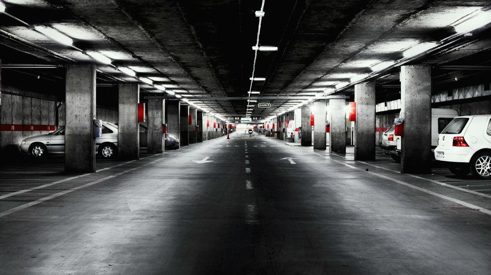 Foto: Imagen interior de un aparcamiento. (Corbis)