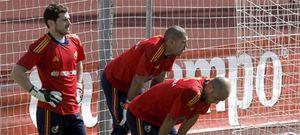 """Reina y Valdés coinciden: """"Casillas es nuestro líder"""""""