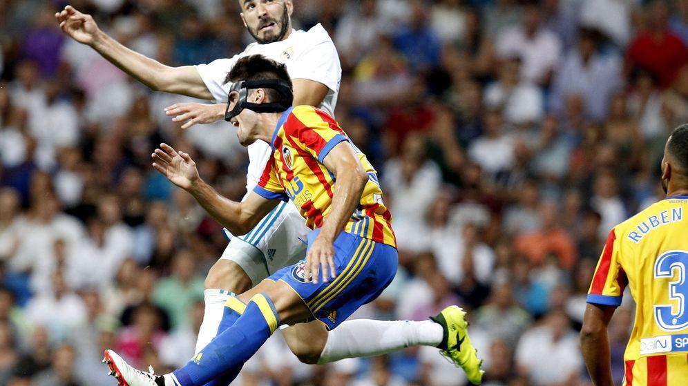 Foto: Imagen del Real Madrid-Valencia de la primera vuelta. (EFE)