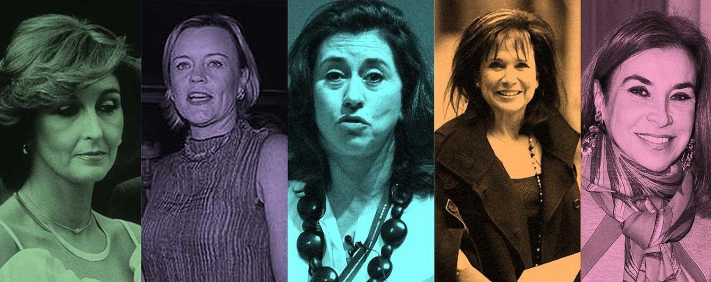 Foto: Mujeres de banqueros