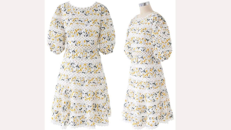 El vestido de la infanta Sofía. (Cortesía)