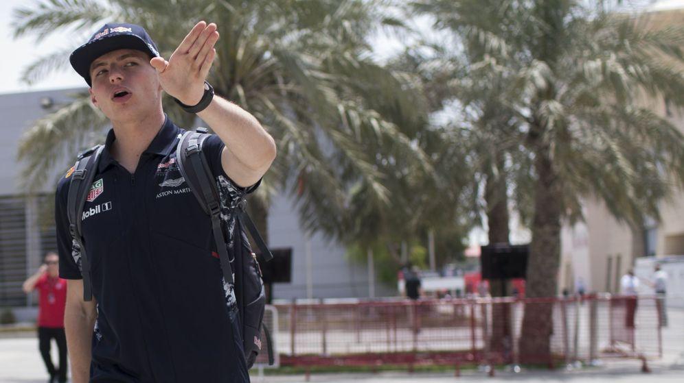Foto: Verstappen, este fin de semana en Baréin. (Efe)