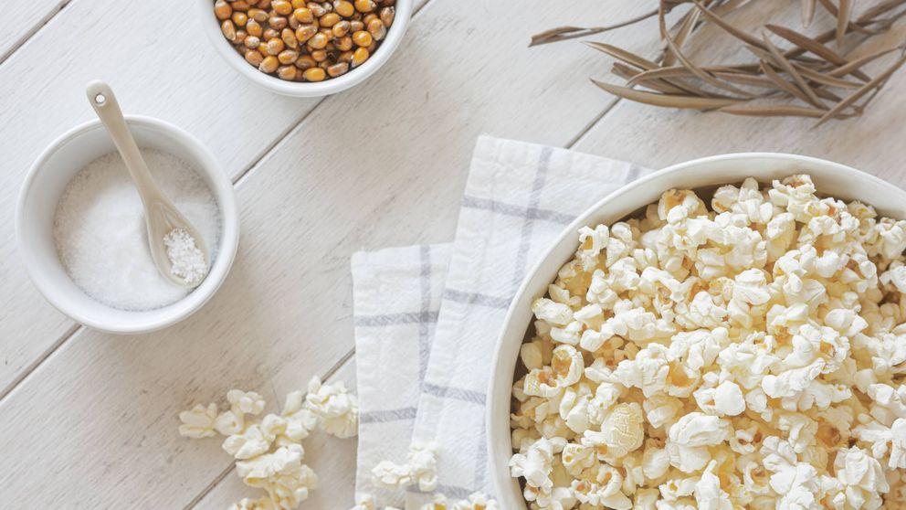 Tenemos el secreto para convertir las palomitas de maíz en un snack saludable
