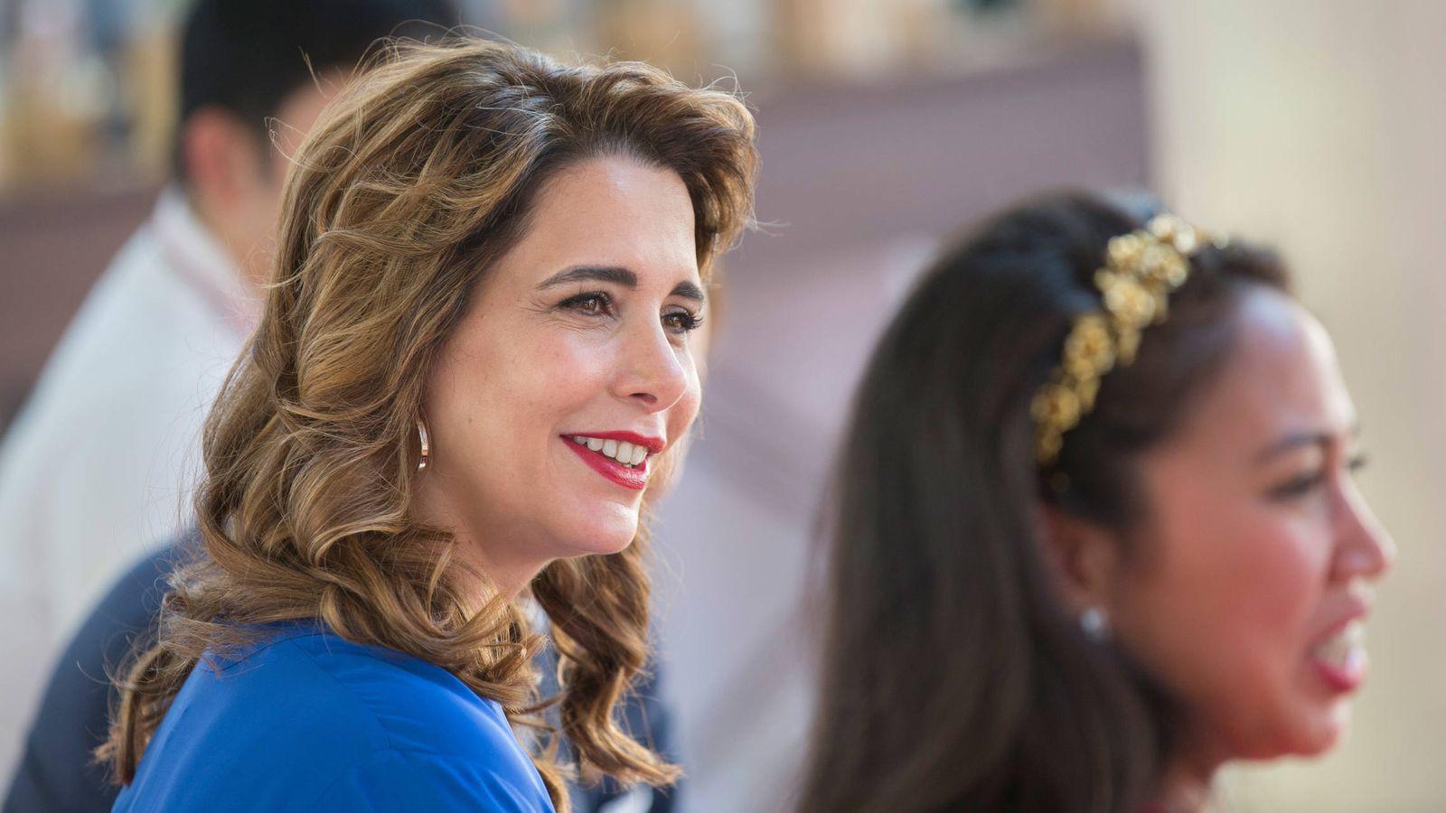 Foto: La princesa Haya de Jordania en una imagen de archivo. (Getty)