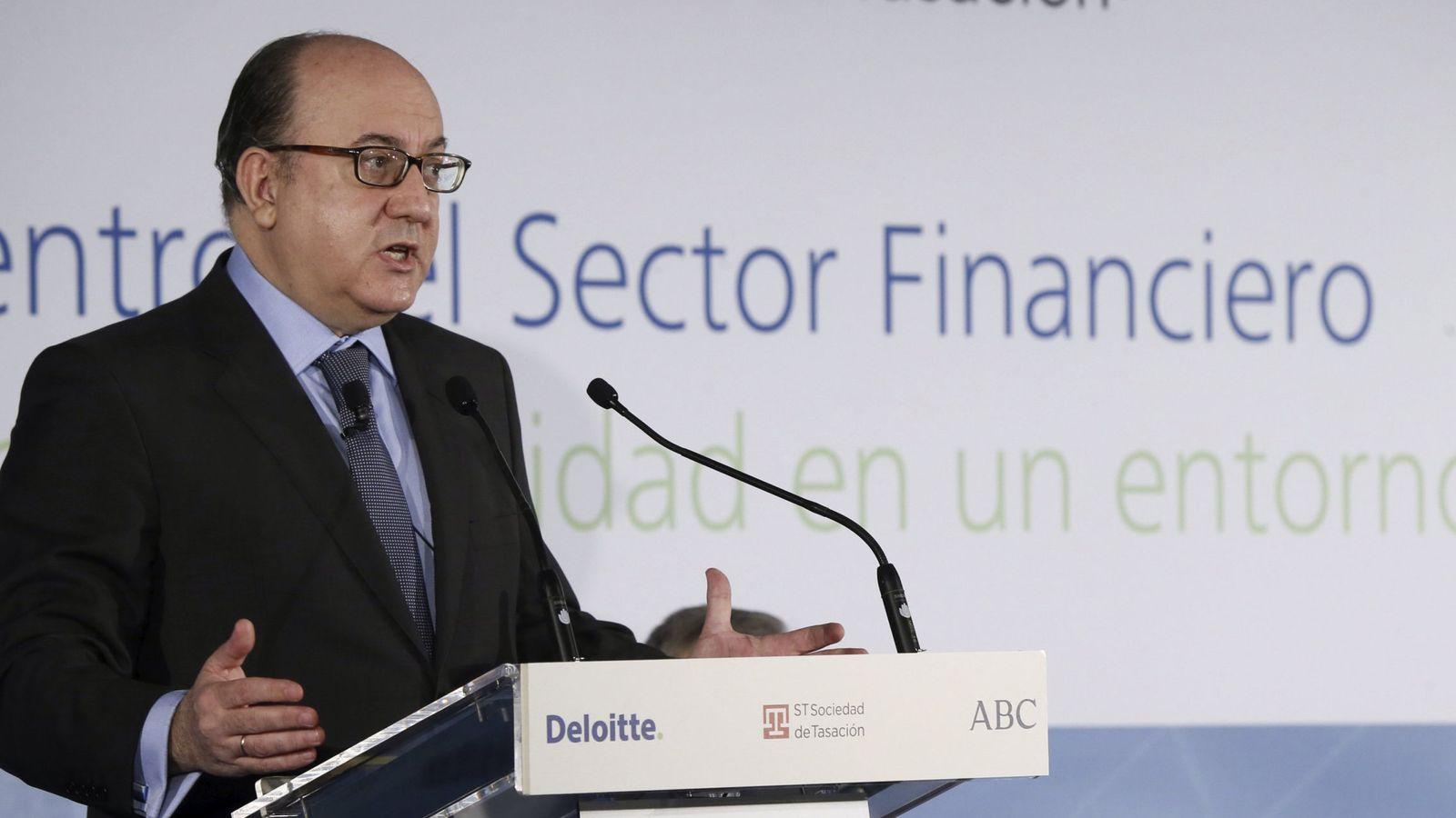 Foto: El presidente de la patronal bancaria AEB, José María Roldán. (Efe)