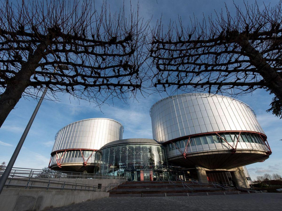 Foto: Vista exterior del Tribunal Europeo de Derechos Humanos de Estrasburgo. (EFE)
