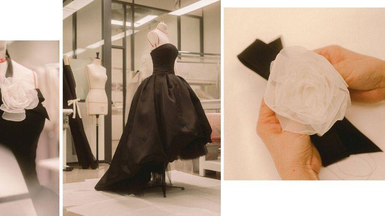Confección del vestido. (Cortesía de Chanel)