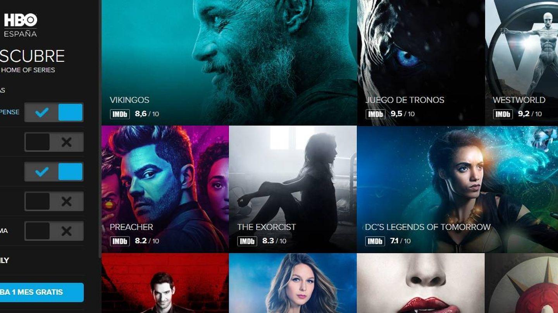 Han apostado por el contenido en lugar de por dar más opciones a sus usuarios (Fuente: HBO España)