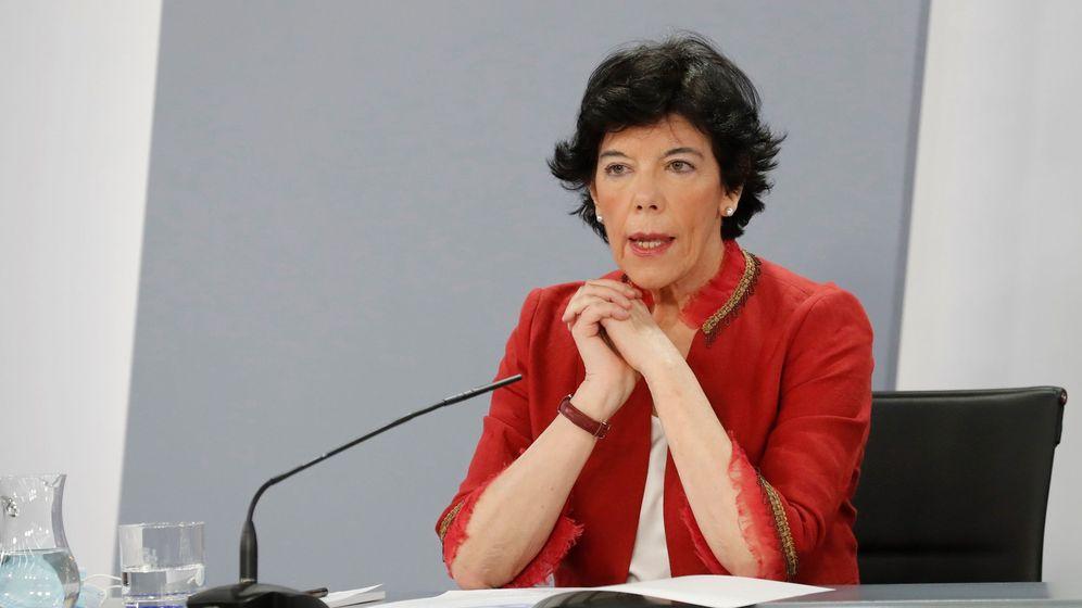 Foto: La ministra de Educación y Formación Profesional, Isabel Celáa. (EFE)