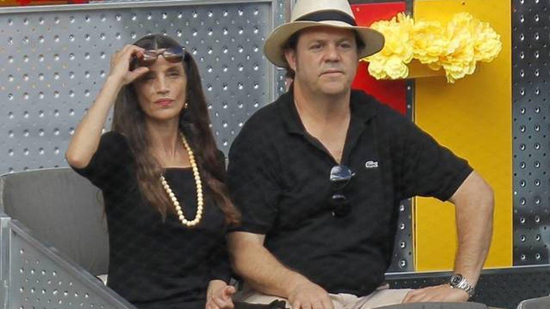Ángela Molina y su marido, Leo Blakstad. (Cordon Press)