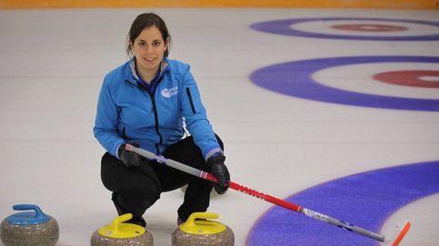 Irantzu tira la piedra: el curling en España, una cuestión familiar