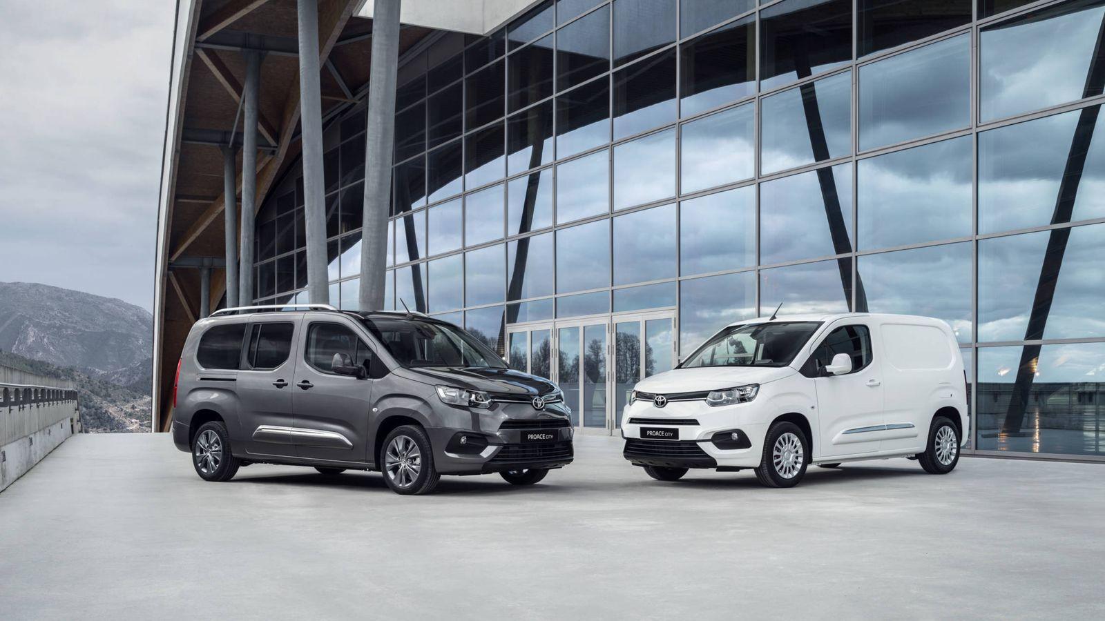 Foto: Habrá versiones de carrocería corta y larga y también variantes furgoneta o de transporte de pasajeros del Proace City fabricado en Vigo.