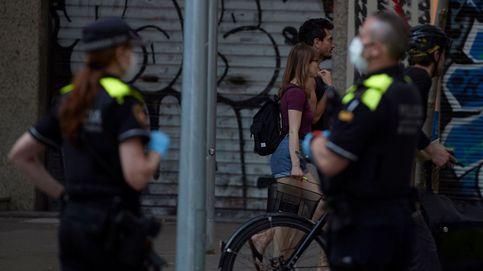 Una mujer se tira desde un balcón por miedo a ser agredida por su marido en Manresa