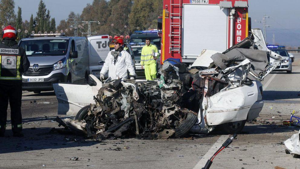 Un conductor drogado provoca un accidente múltiple con seis heridos en Barcelona