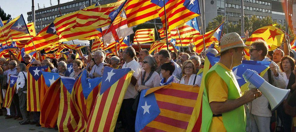 Foto: Manifestación a favor de la independencia en una foto de archivo. (Efe)