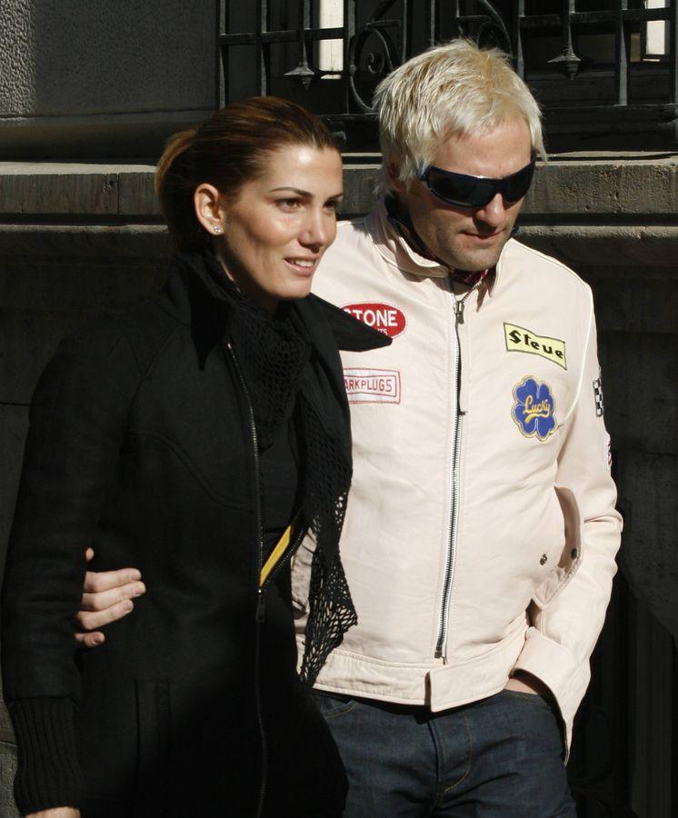 Foto: Santiago Cañizares y su mujer en una imagen de archivo. (Cordon)