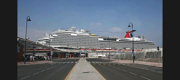Foto: Puerto de Málaga (EFE)