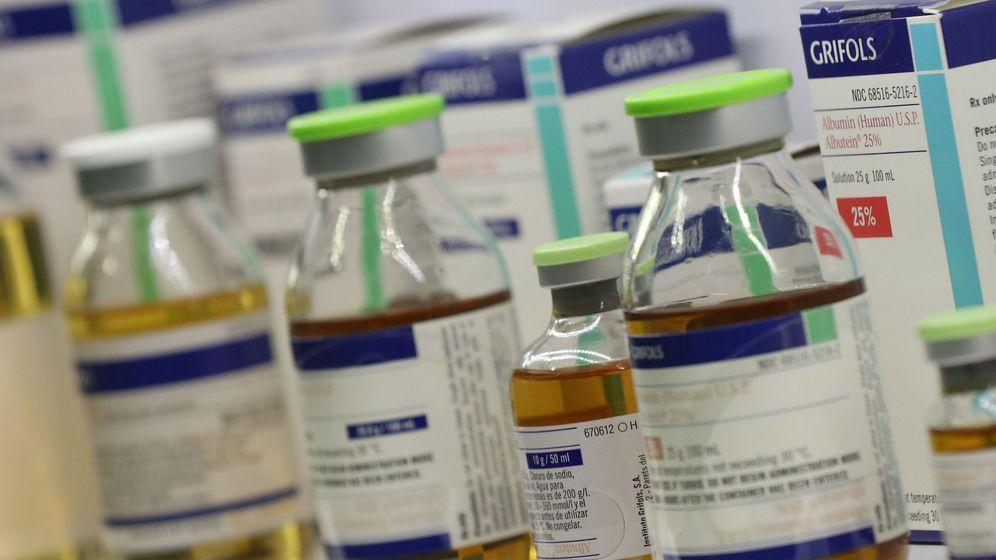 Foto: Medicamentos de Grifols (Reuters)