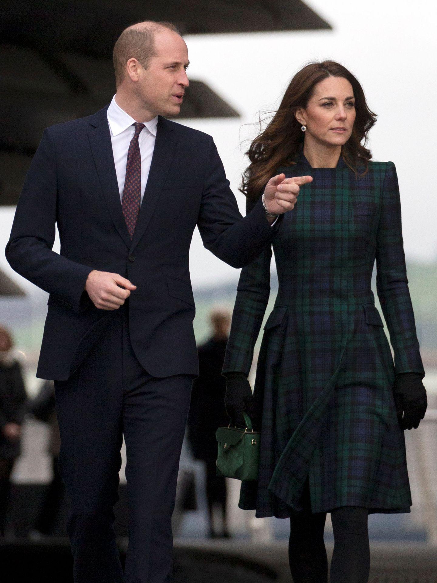 Los duques de Cambridge. (Reuters)