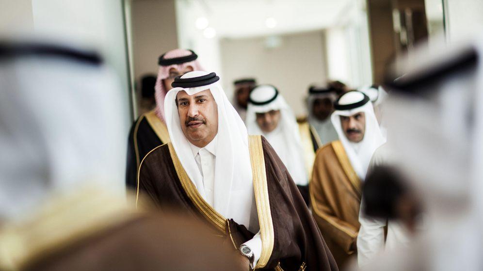 Foto: El jeque catarí Hamad bin Jassim bin Jaber al Thani. (Gtres)