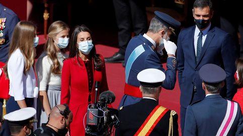 Los Reyes presiden un atípico 12-O que reúne a Sánchez y Ayuso en Palacio Real