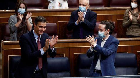 La moción refuerza la coalición para los PGE que el Gobierno quiere aprobar el martes