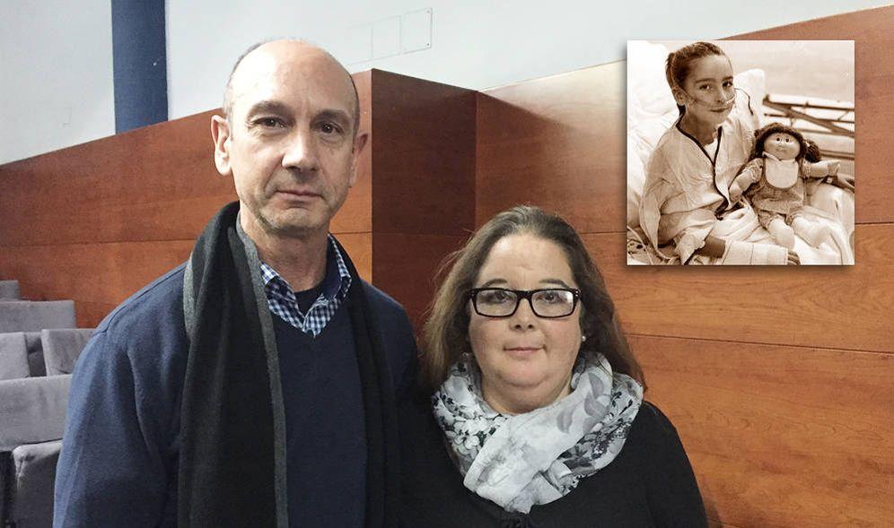 Foto: Dolores Ortega Rojas junto a su marido. (AV)