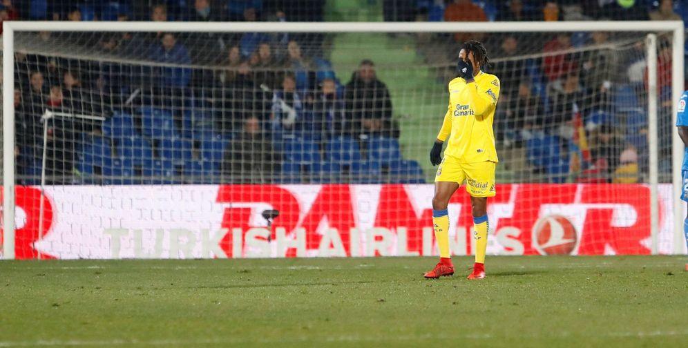 Foto: Remy, durante un partido de Las Palmas. (EFE)