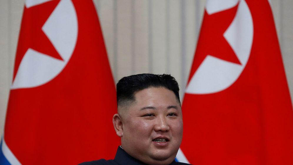 Foto: El líder norcoreano Kim Jong-un en Rusia. Foto: EFE.