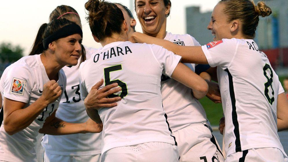 Foto: El equipo estadounidense campeón del último Mundial. (Reuters)