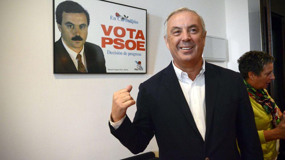 Foto: El secretario general del PSdeG-PSOE, Pachi Vázquez. (EFE)