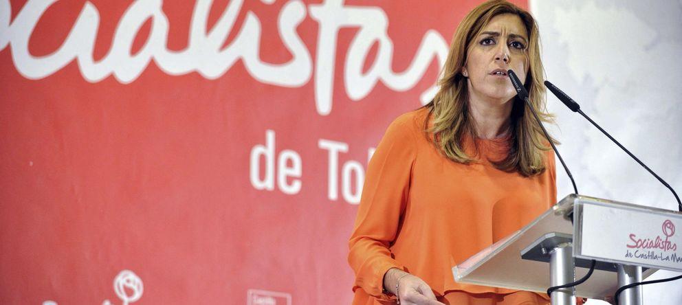 Foto: La presidenta andaluza, Susana Díaz, durante un acto público en Toledo. (Efe)