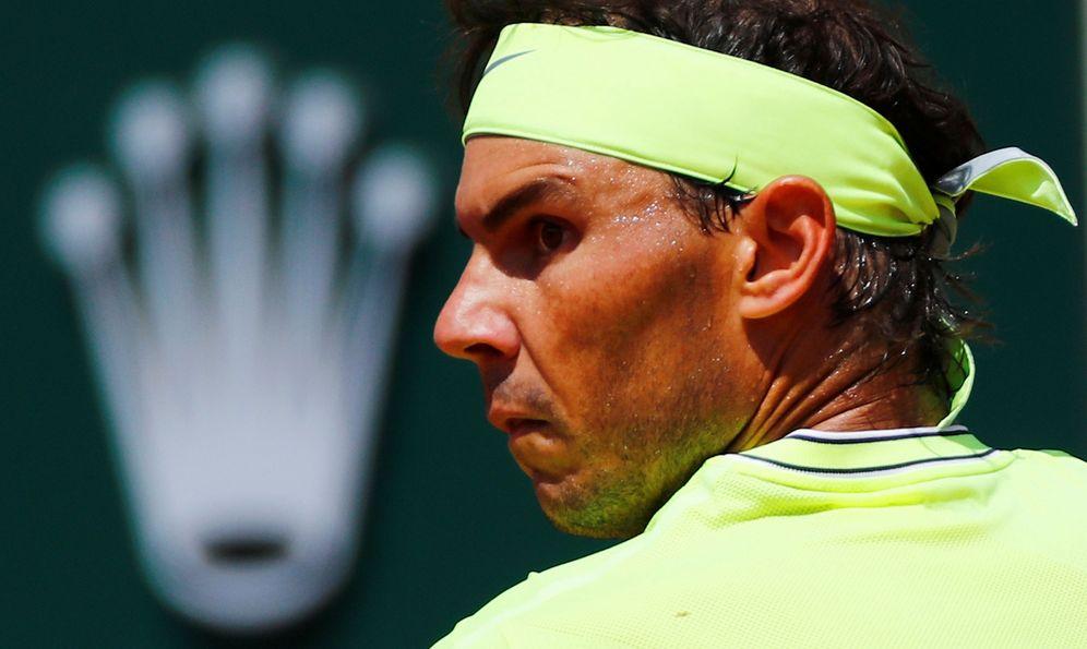 Foto: Rafa Nadal, en Roland Garros. (Reuters)