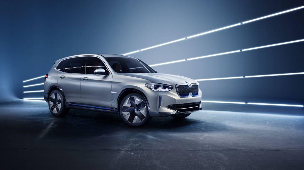 Foto: Este BMW iX3 Concept avanza el que pronto será el primer todocamino 100% eléctrico de la marca alemana.