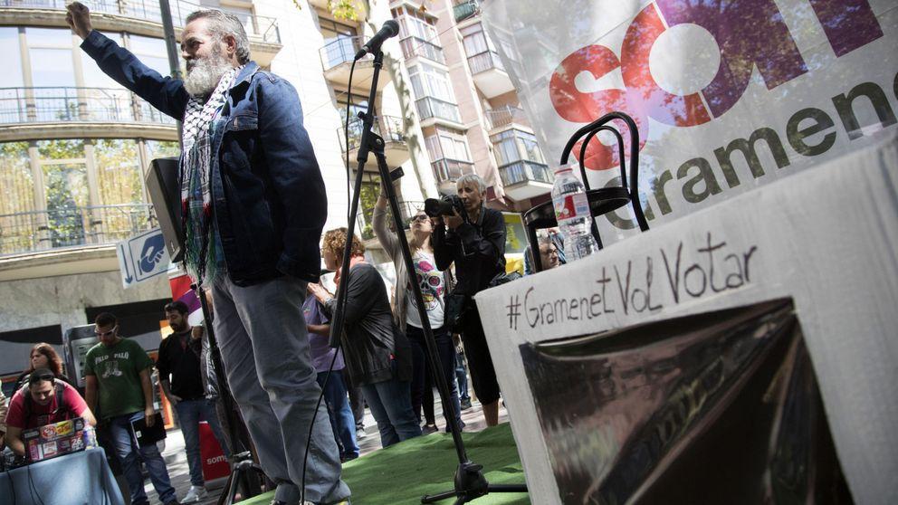 Sánchez Gordillo reaparece como 'musa' de la CUP y pide desobedecer al Constitucional