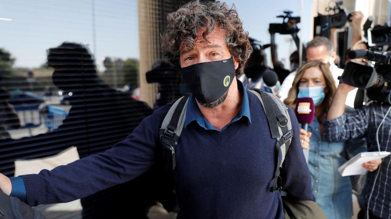 Nacho Palau, tras declarar ante el juzgado. (EFE)