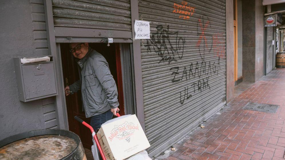 Foto: Bar en Vitoria (EFE)