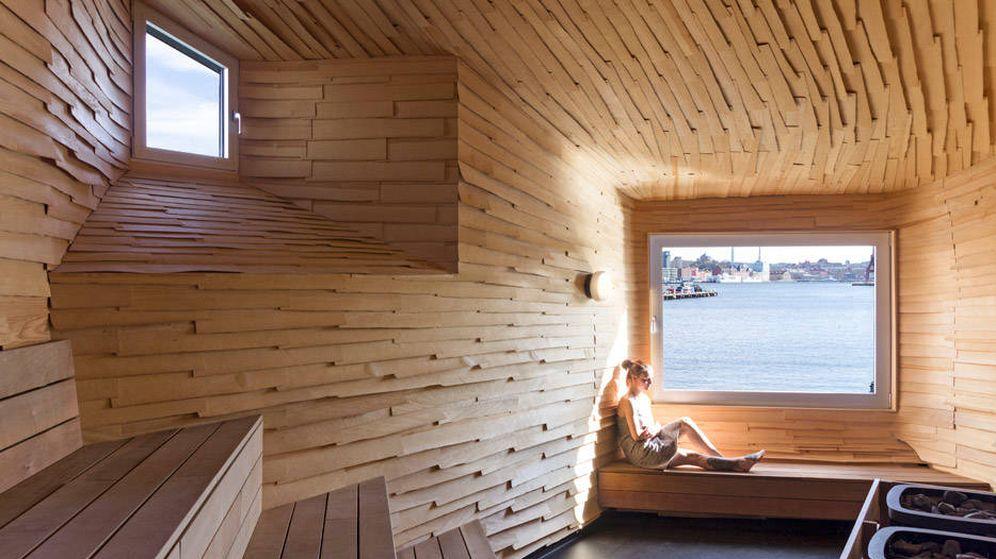 Foto: Una sauna a la semana es lo que recomiendan los médicos.