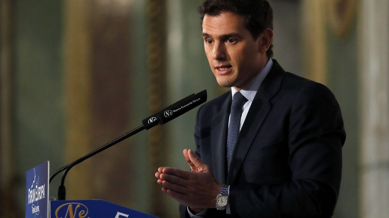 Rivera se ofrece al PSOE y PP para evitar que el desbloqueo incluya a UP y nacionalistas