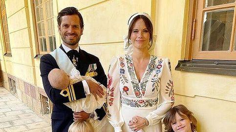 Nuevo posado y algunos datos del bautizo del hijo de Carlos Felipe y Sofía de Suecia