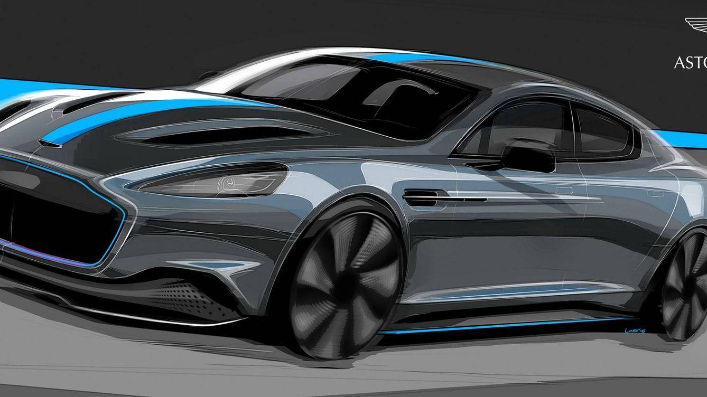 Aston Martin RapidE, cambiar un V12 por electricidad