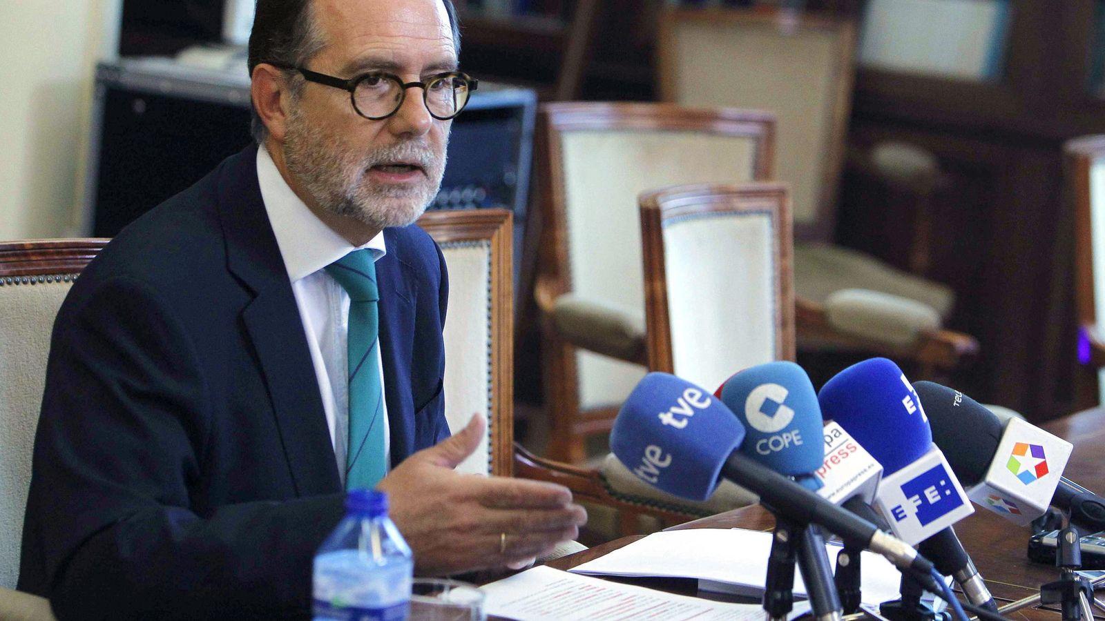 Foto: El presidente del Tribunal Superior de Justicia de Madrid, Francisco Javier Vieira Morante. (EFE)