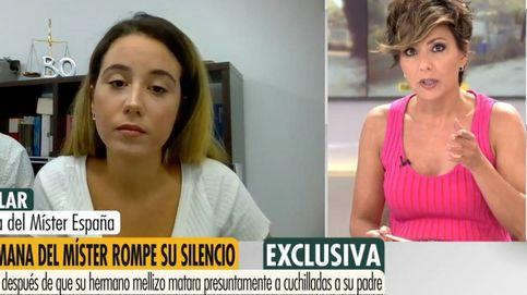 Sonsoles Ónega, sobrecogida al escuchar a la hermana de Vicente Hernández, el Míster España que ha matado a su padre