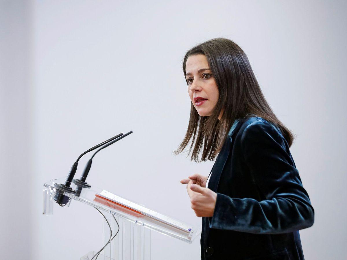 Foto: La portavoz parlamentaria de Cs, Inés Arrimadas. (EFE)